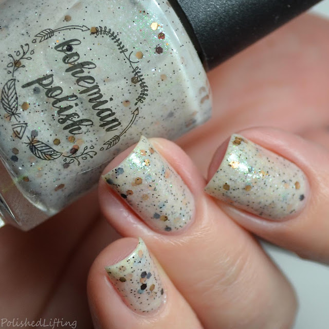 smores themed nail polish