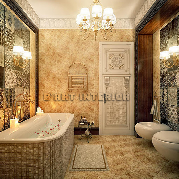Combine Classic And Modern Bathroom Design