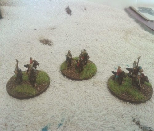 8 Gallic/Celtic commands this except one last warband and a couple of tiny bits completes my gauls picture 2