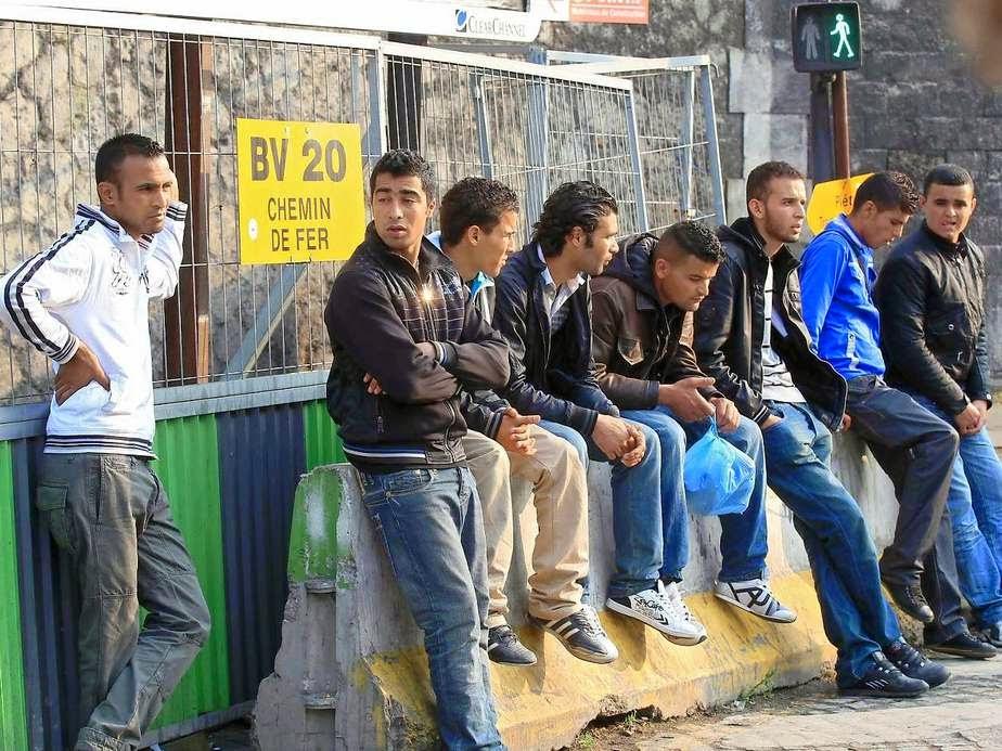 Flüchtlinge Untergetaucht