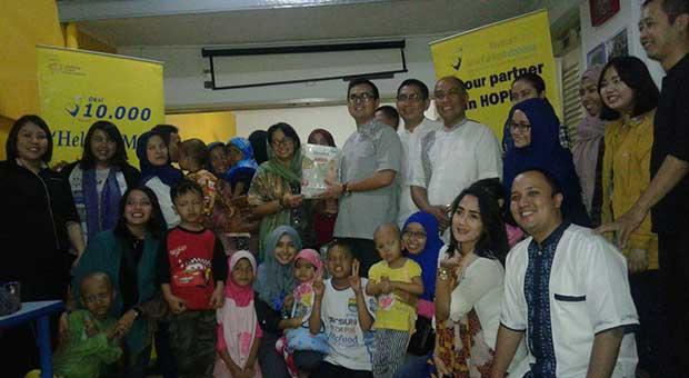 Berbagi Nikmat Ramadhan Bersama Anak-anak Penderita Kanker