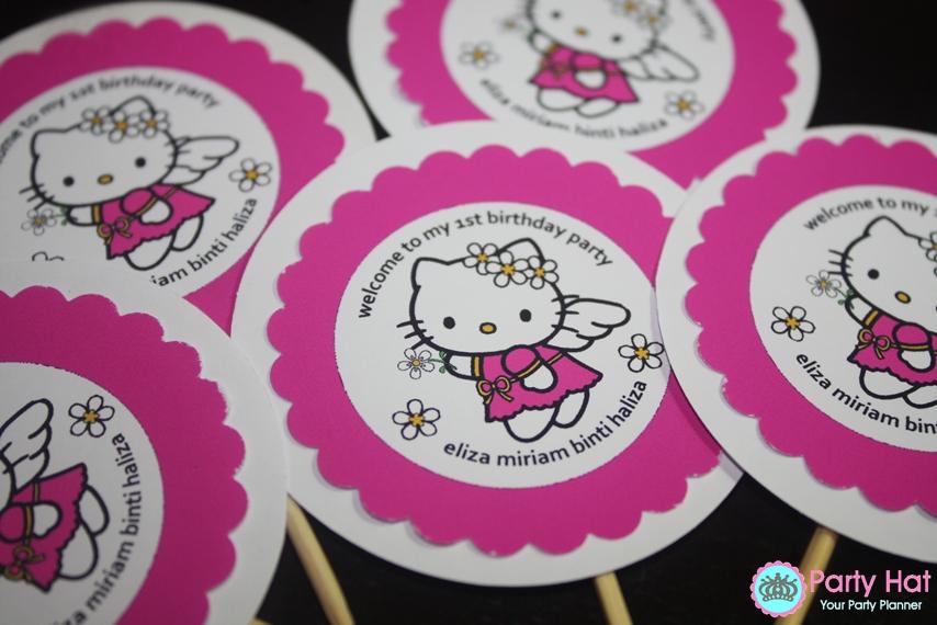 Party Idea Elizas Hello Kitty Theme