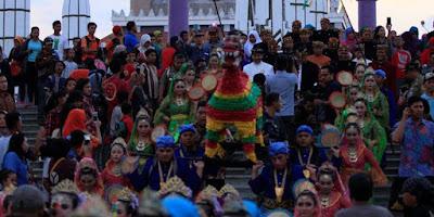 Kirab Budaya Tradisi Dudgeran Kampung Kauman Semarang