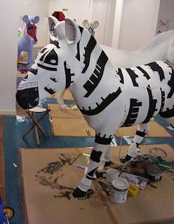 Zany zebra marwell