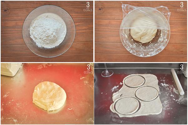receita de massa de pastel de creme de leite