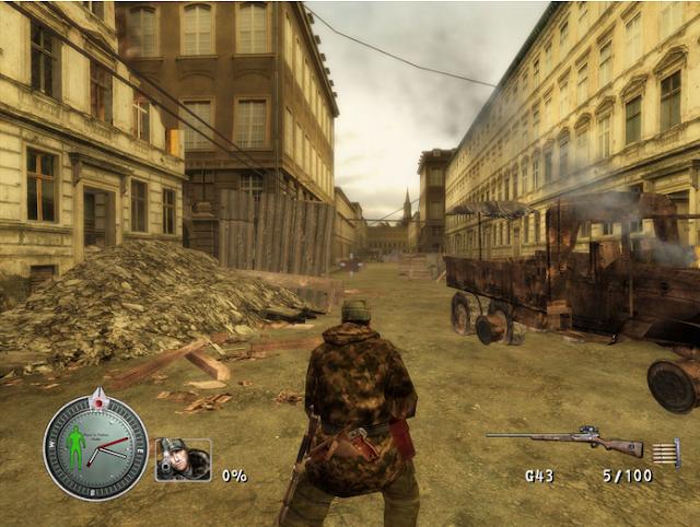 Sniper Elite 1 Full Version PC Gameplay