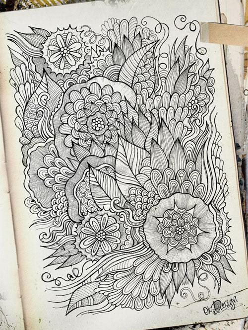 mengenal lebih lanjut tentang doodle art jago desain