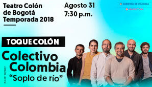 Concierto de Colectivo Colombia, Soplo De Río