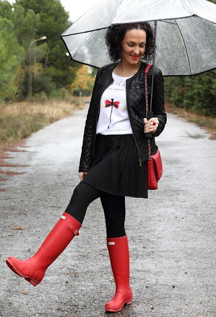 botas para lluvia y barro
