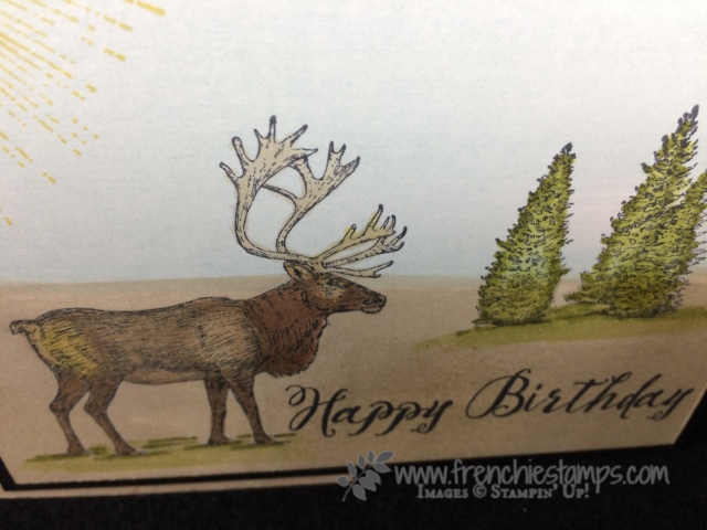 Nature Sings, Stampin' Blends, Stampin'Up! Alcohol Markers, Frenchie Stamps