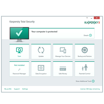 Kaspersky Total Security 2017 + Trial Reset