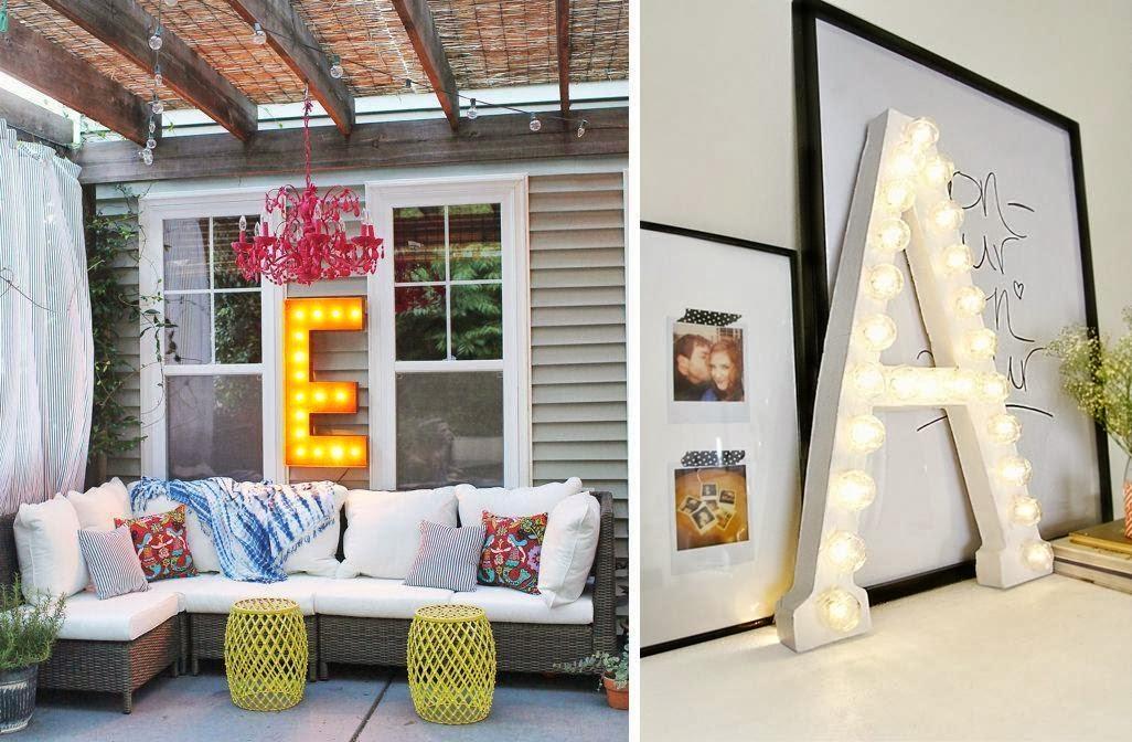 comprar alquilar letras y figuras con bombillas 5 DIY