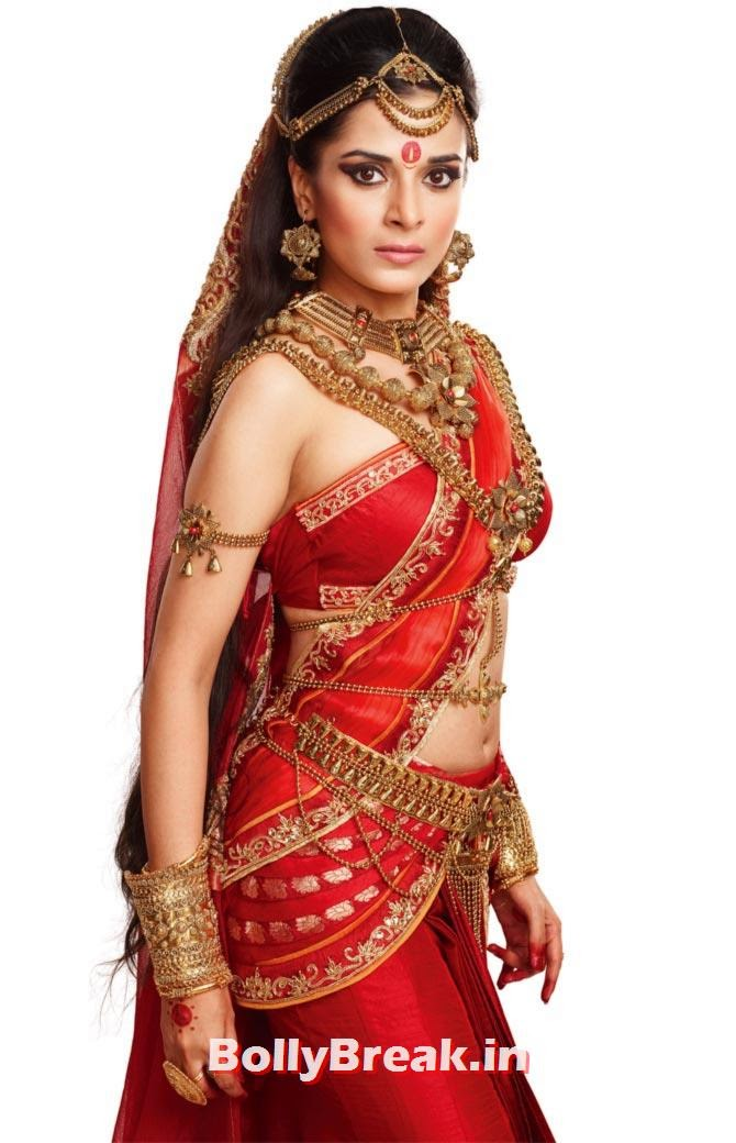 Pooja Sharma as Draupadi in Mahabharat, Top 10 TV Shows 2014, Serials in Indian