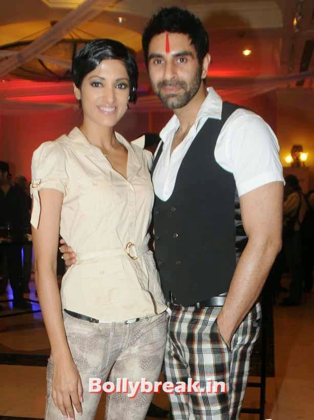 Sandip Soparkar with his wife Jesse Randhawa