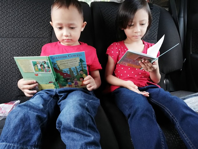 Program McDonald's Happy Meal Readers Pupuk Minat Anak Membaca