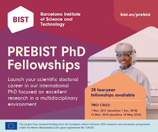 PREBIST 2018 PhD Fellowship Scholarship for Students Worldwide