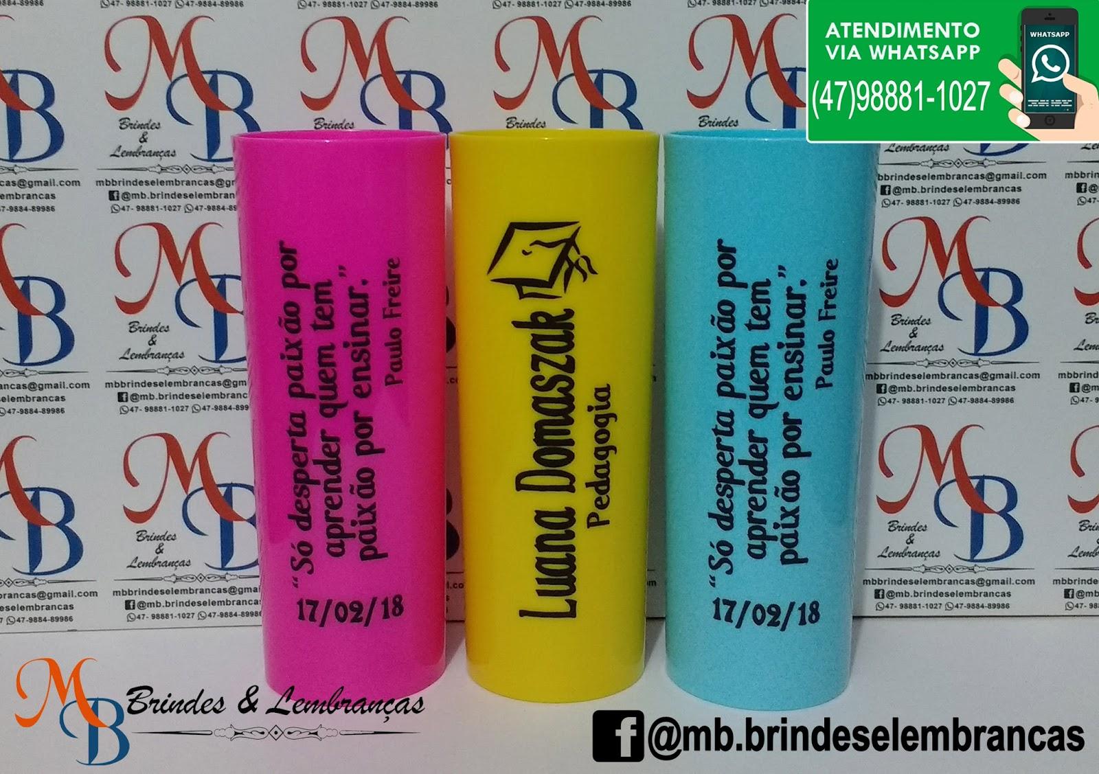 Copos Personalizados Formatura Pedagogia Magistério Mb Brindes E