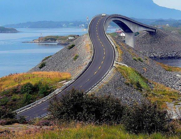 Atlantic Road – Noruega