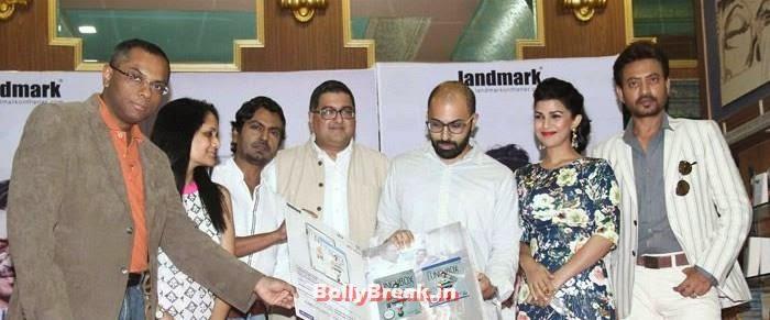 Nawazuddin Siddiqui, Ritesh Batra, Nimrat Kaur, Irrfan Khan, Nimrat Kaur Hot Images from 'The Lunchbox'  Movie DVD Launch