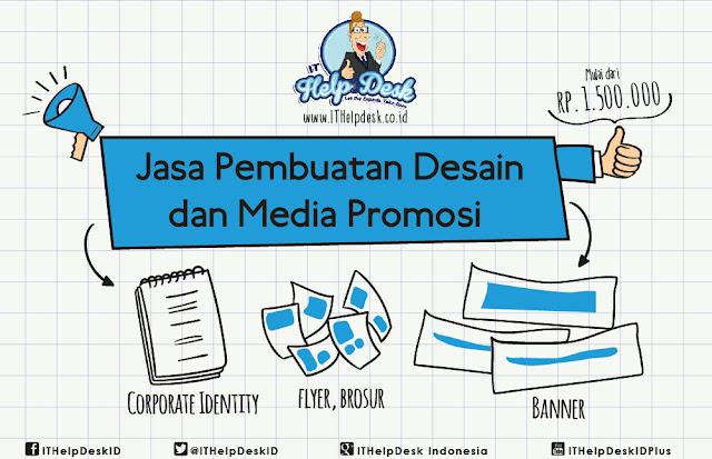 Jasa Pembuatan Desain dan Media Promosi Lainnya