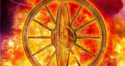 WHAT ARE THE WHEELS IN EZEKIEL 1?