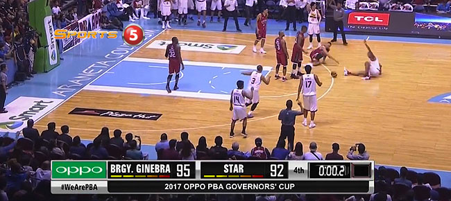Ginebra def. Star, 105-101 in OT (REPLAY VIDEO) September 3 - Manila Clasico