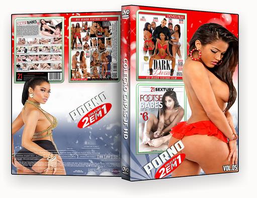 CAPA DVD – COLEÇÃO PORNO DVD-R VOL 05 2018 DVD-R