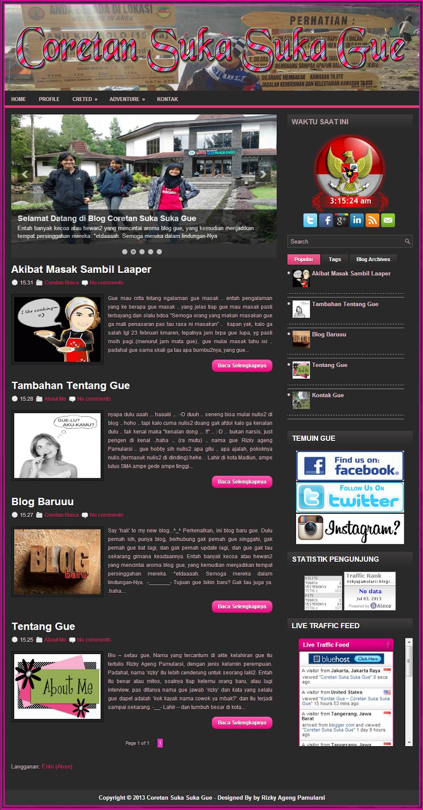 Jasa Pembuatan Blog Pribadi Murah