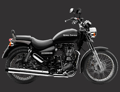 Royal Enfield Thunderbird 500 side angle look