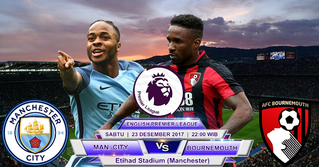 Manchester City vs Bournemouth 23 Desember 2017