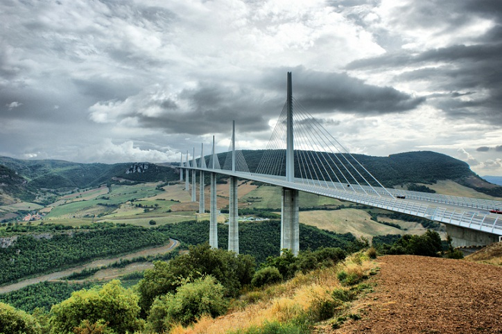 Millau Viaduct, Jembatan Tertinggi di Dunia