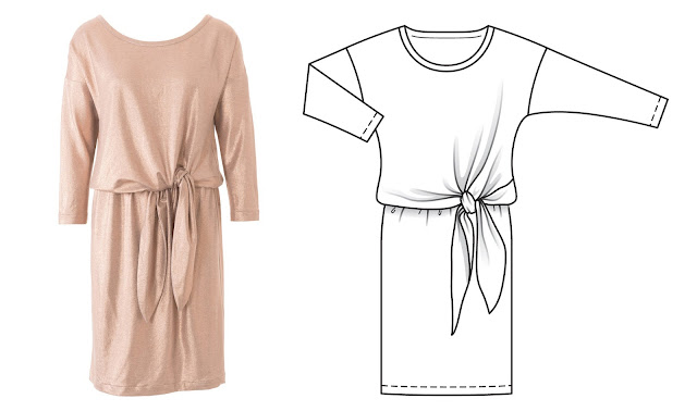 burda dergisi ekim 2016 elbise