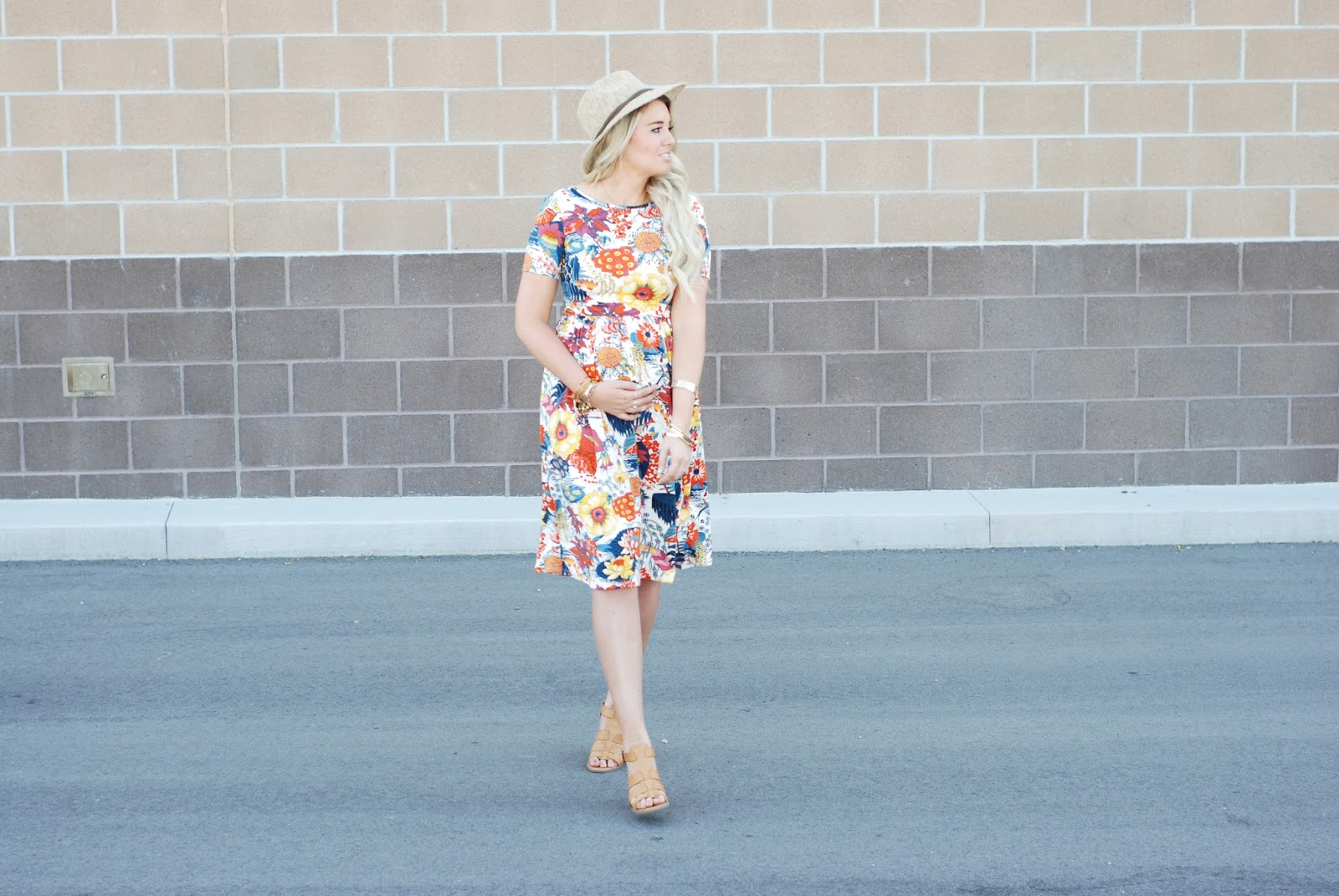 Utah Fashion Blogger, Floral Dress, Modest Blogger