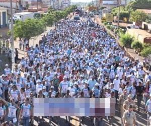 Igreja Católica promove a 5ª Caminhada da Família em Alagoinhas