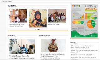 portal berita desa dermaji