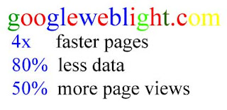Googleweblight faster pages