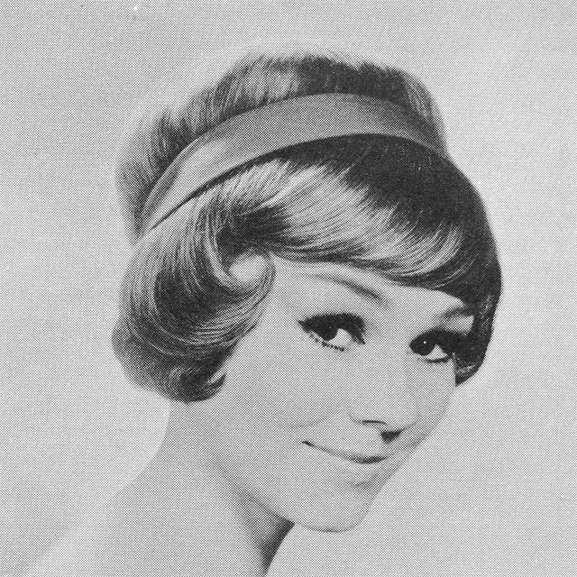Everyday 50s Hairstyle : Vintage everyday pictures of beautiful female hairstyles the