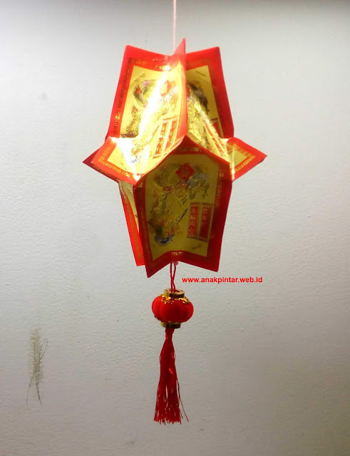 Lampion Durian Mini Sederhana