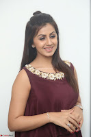 Nikki Galrani in a Brown Shining Sleeveless Gown at Nakshatram music launch ~  Exclusive 061.JPG