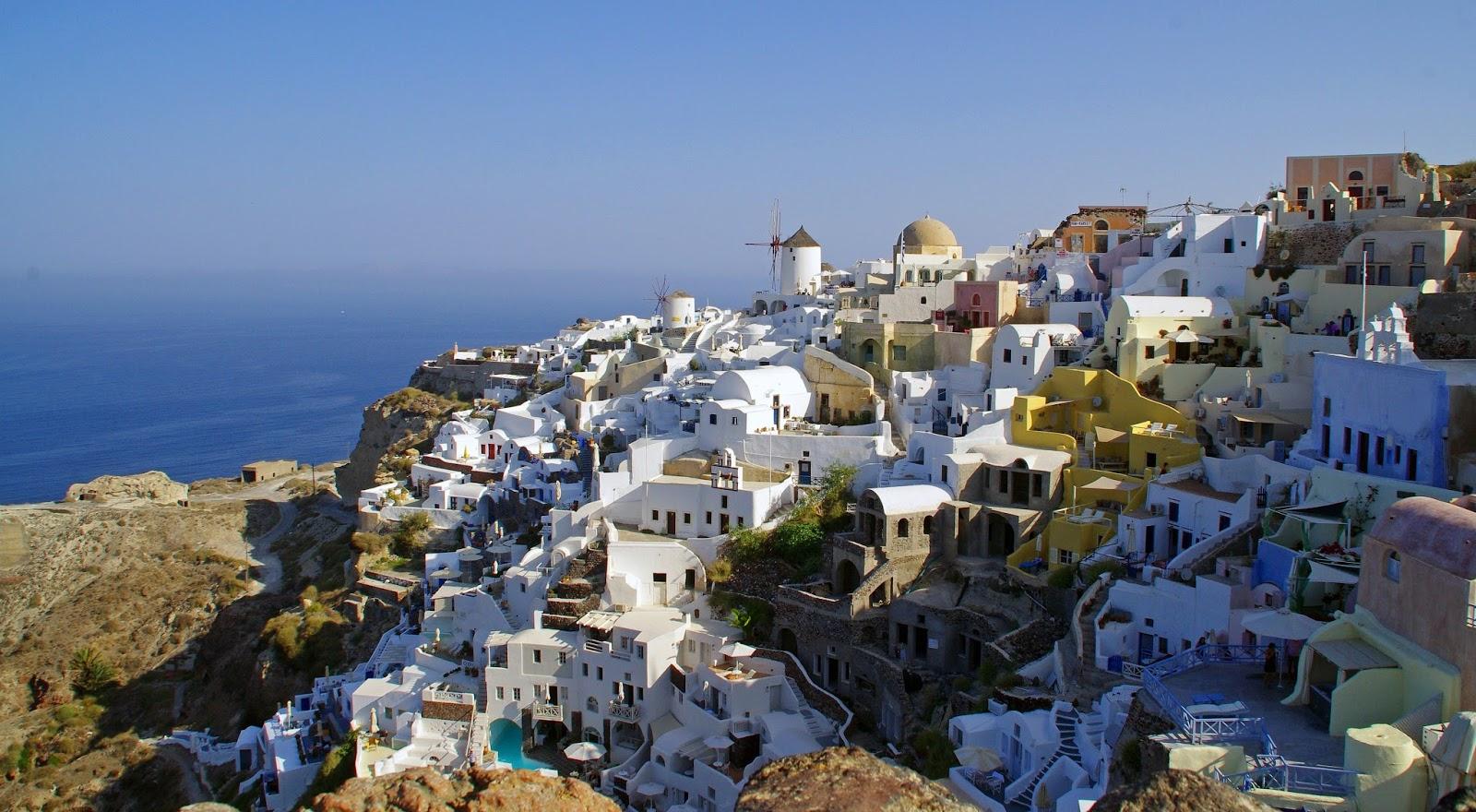 Oia Town Santorini