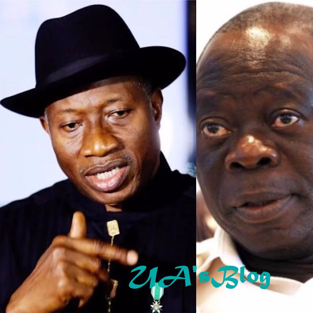 Goodluck Jonathan reacts to vote-buying allegation, says Oshiomhole has psychological problem