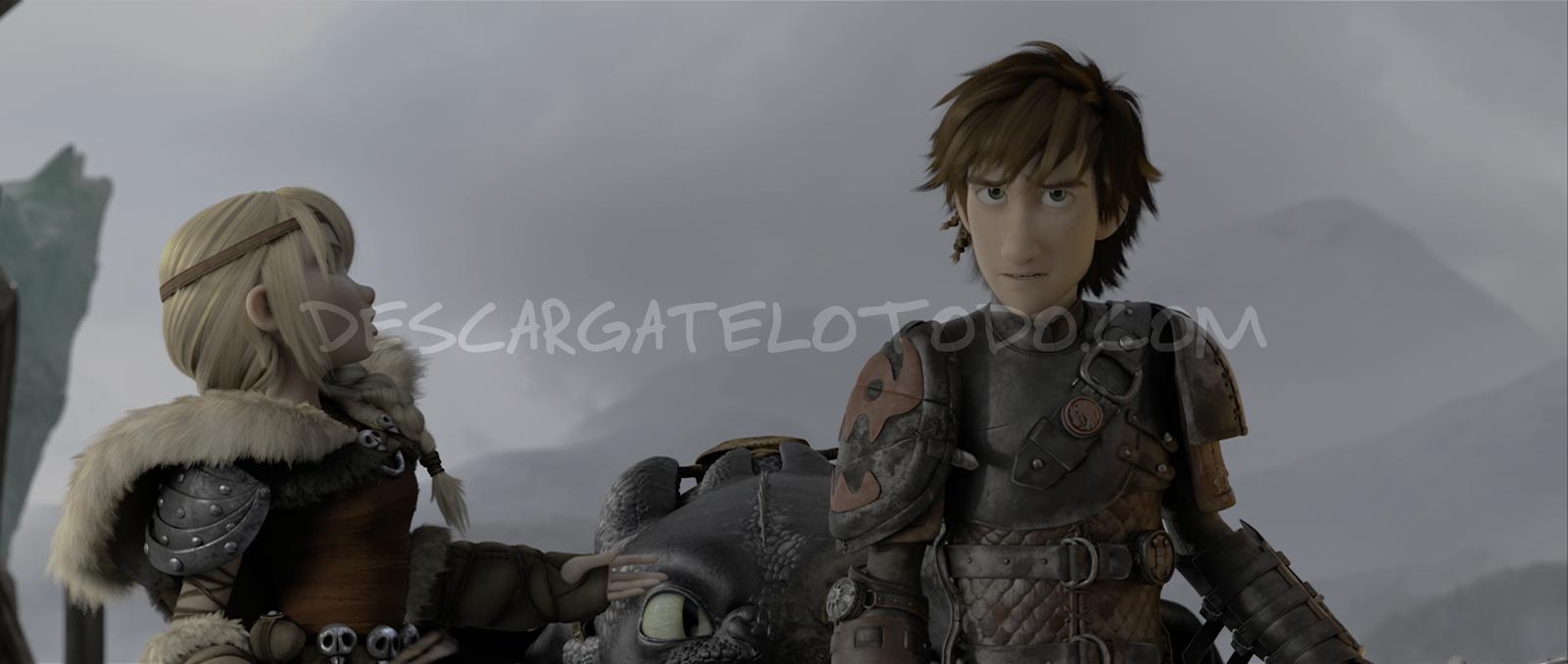 Cómo Entrenar a tu Dragón 2 (2014) 4K UHD [HDR] Latino-Castellano-Ingles captura 1