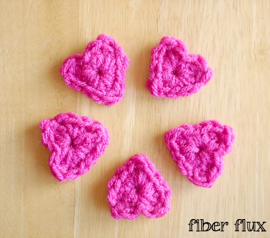 Fiber Flux: 30 Quick To Crochet Valentine Gifts