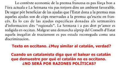 Occitano similar catalán
