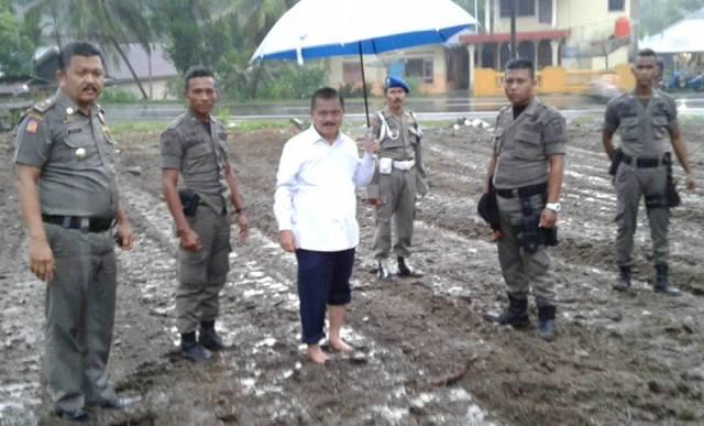 Bupati Ali Mukhni Rutin Lakukan Penijauan Ke Kawasan Tarok City