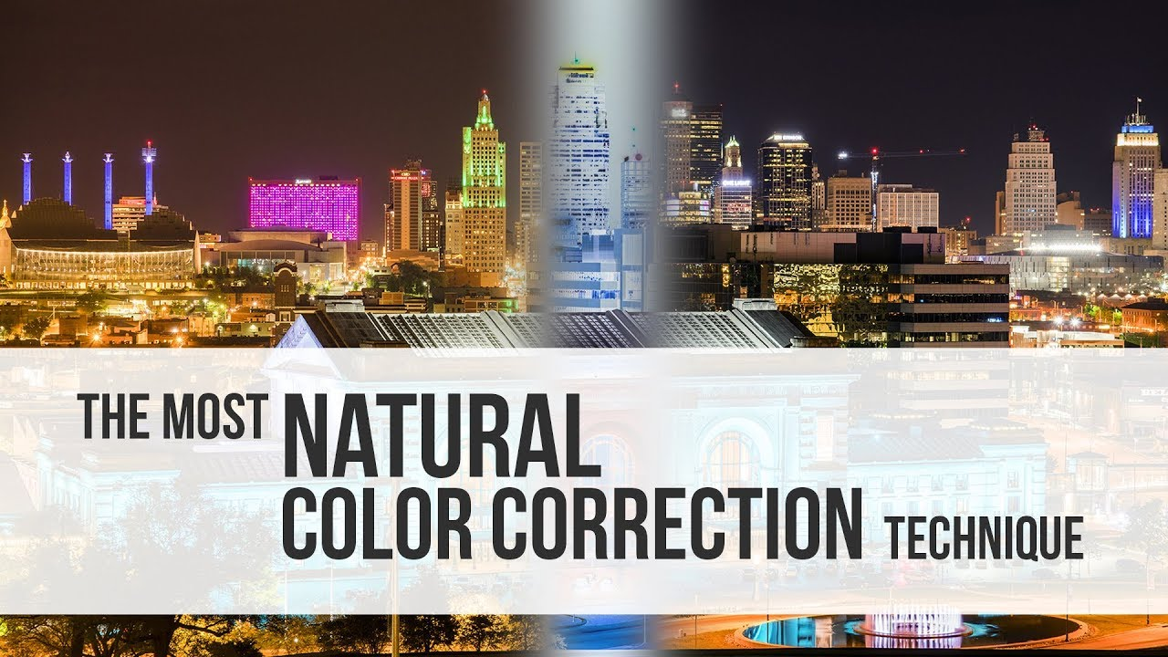 The Most Natural Color Correction Technique in Photoshop