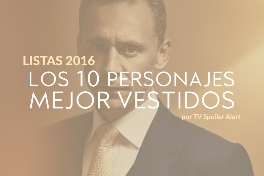 Los 10 personajes de series mejor vestidos de 2016