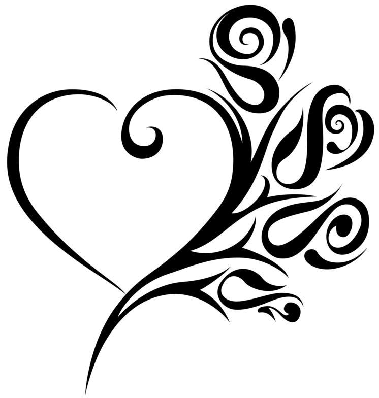 heart hand tattoos for women