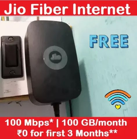 Jio Fiber Router Modem