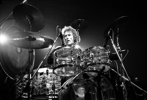 Ginger Baker by Zoran Veselinovic
